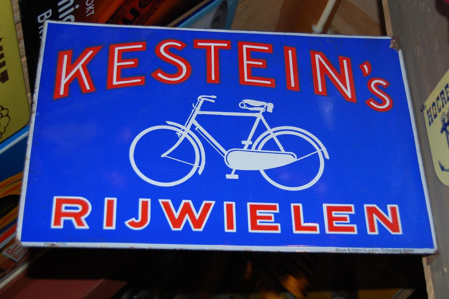 emaille kestein's rijwielen