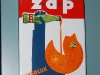 emaille reclamebord zap