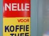 emaille deurpostje van nelle voor koffie en thee