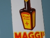 maggi's emaille reclamebordje deurbordje